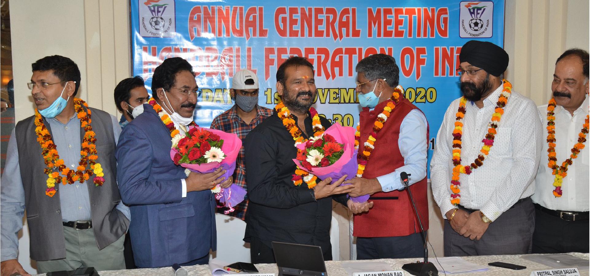 Jagan Mohan Rao Arishnapally elected HFI President