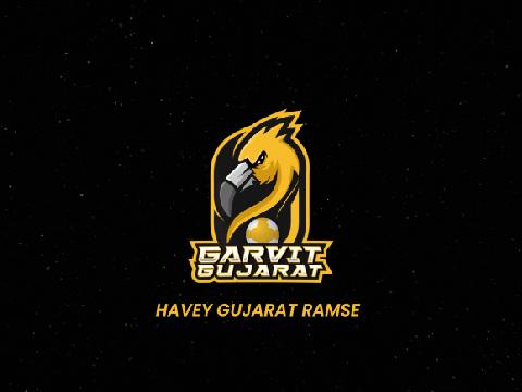 Garvit Gujarat- Team Logo